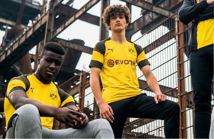 Borussia Dortmund 2018/19 PUMA Home Kit - FOOTBALL FASHION