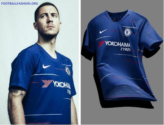 Chelsea FC 2018 2019 Nike Home and Away Football Kit, Soccer Jersey, Shirt, Camiseta de Futbol, Camisa, Maillot, Trikot, Tenue, Dres