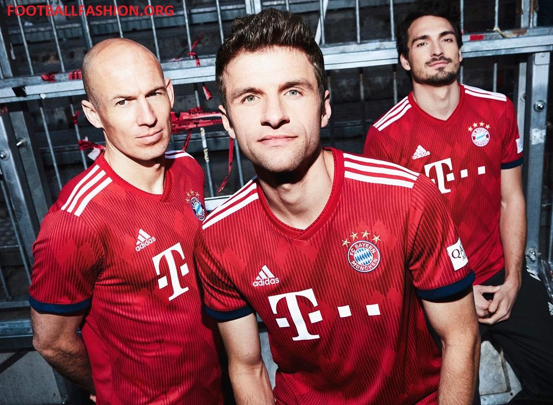 Bayern München 2018/19 adidas Home Kit - FOOTBALL FASHION