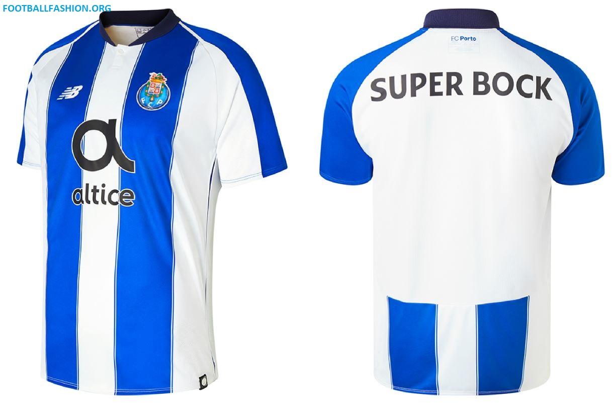 9718878a6cf FC Porto 2018 2019 New Balance Home Football Kit, Soccer Jersey, Shirt,  Camisa