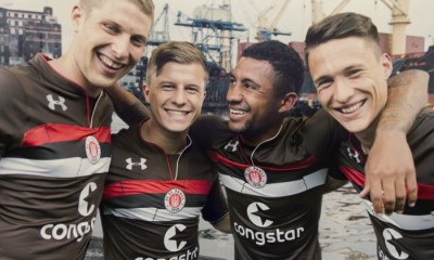 FC St. Pauli 20182019 Under Armour Home Football Kit, Soccer Jersey, Shirt, Trikot, Heimtrikot