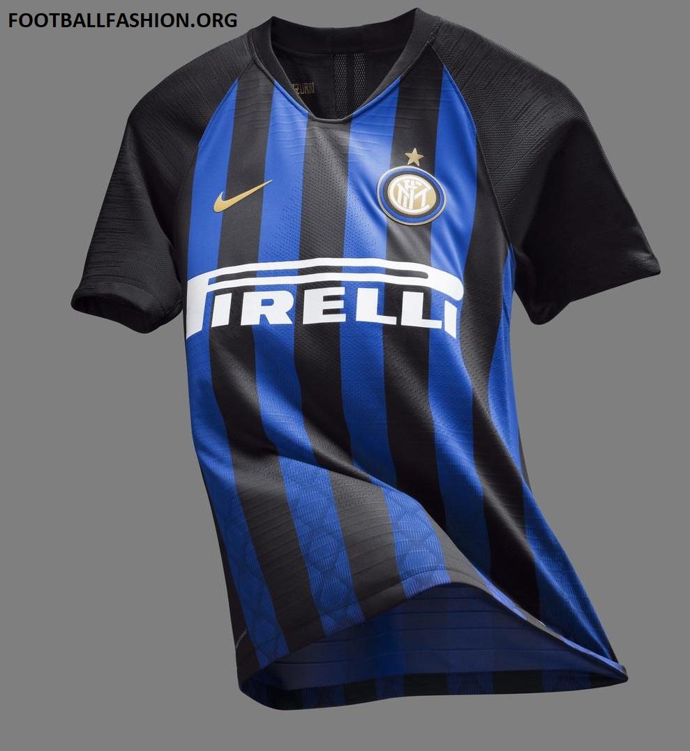 744950c18a6 Inter Milan 2018 19 Nike Home Kit - FOOTBALL FASHION.ORG