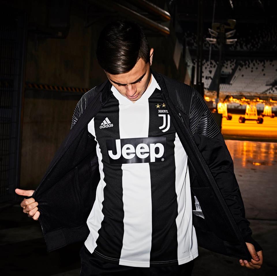 brand new 8eb4f 61bd3 Juventus FC 2018/19 adidas Home Kit - FOOTBALL FASHION.ORG