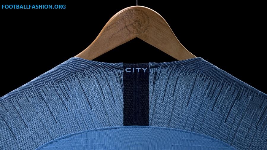 Manchester City 2018 19 Nike Home Kit – FOOTBALL FASHION.ORG ebedc0456f4