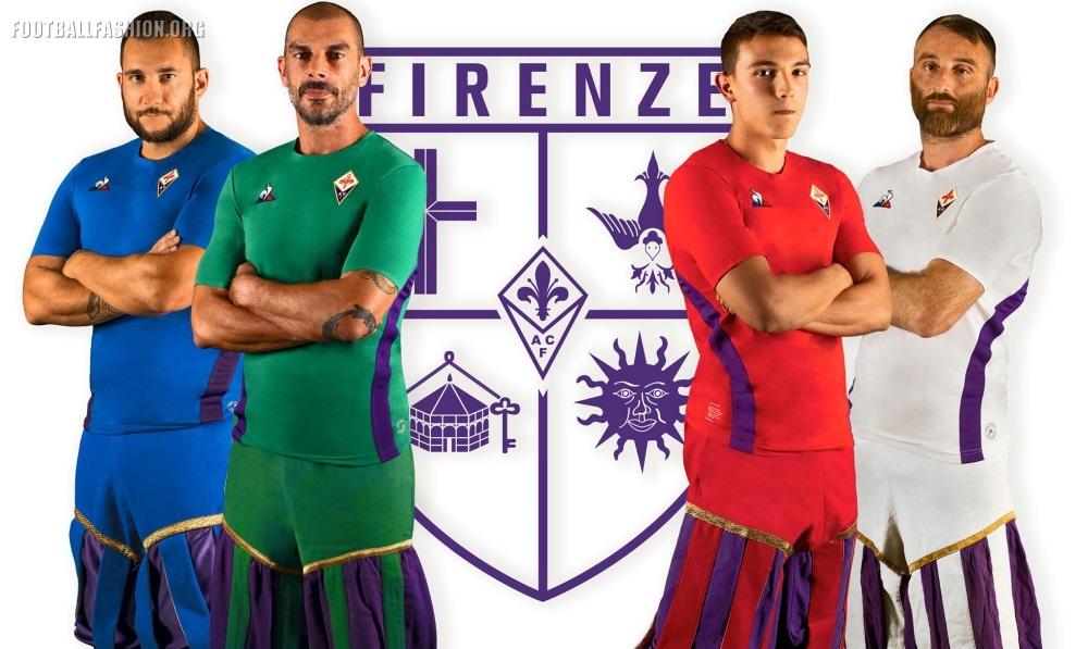 29250376886 ACF Fiorentina 2018 2019 le coq sportif Football Kit, Soccer Jersey, Shirt,  Gara