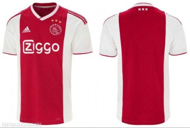 AFC Ajax 2018 2019 adidas Home Football Shirt, Kit, Soccer Jersey, Thuisshirt, Thuistenue