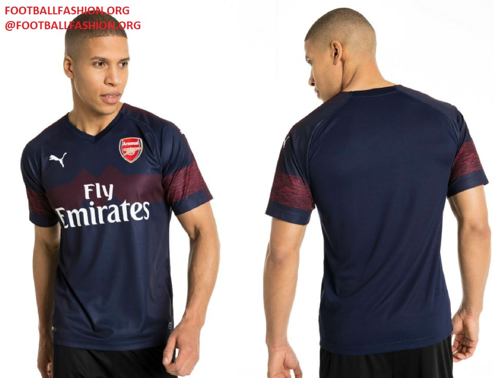 0c7229ed4 Arsenal FC 2018 19 PUMA Away Kit – FOOTBALL FASHION.ORG