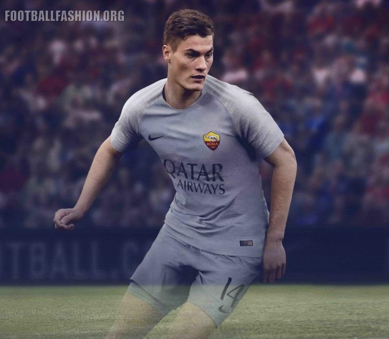 AS Roma 2018 19 Nike Away Kit – FOOTBALL FASHION.ORG c381e3f1c