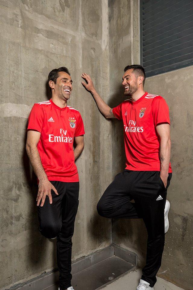 SL Benfica 2018/19 adidas Home and Away Kits - FOOTBALL FASHION