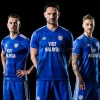 Cardiff City Unveil 2018 2019 Home Football Kit for Premier League Return, Soccer Jersey, Shirt