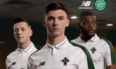 Celtic FC 2018 2019 New Balance Away Football Kit, Soccer Jersey, Shirt