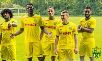 FC Nantes 2018 2019 New Balance Home and Away Football Kit, Soccer Jersey, Shirt, Maillot