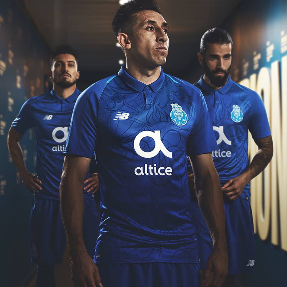 detailed look 1278d fe9d7 FC Porto 2018/19 New Balance Third Kit - FOOTBALL FASHION.ORG