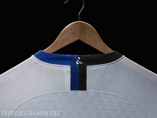 Inter Milan 2018 2019 Nike White Away Football Kit, Soccer Jersey, Shirt, Maglia, Gara, Camiseta, Camisa, Maillot
