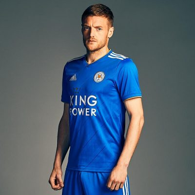 Leicester City FC 2018 2019 adidas Home Football Kit, Soccer Jersey, Shirt