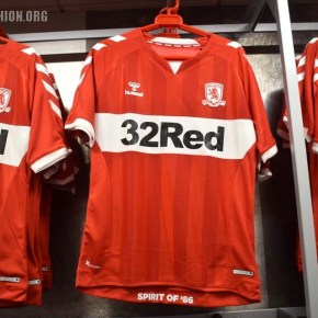 69d389deaf1 ... in recognition of the last year that Middlesbrough wore Hummel shirts  and their promotion from the old Third to Second Division of English  Football.
