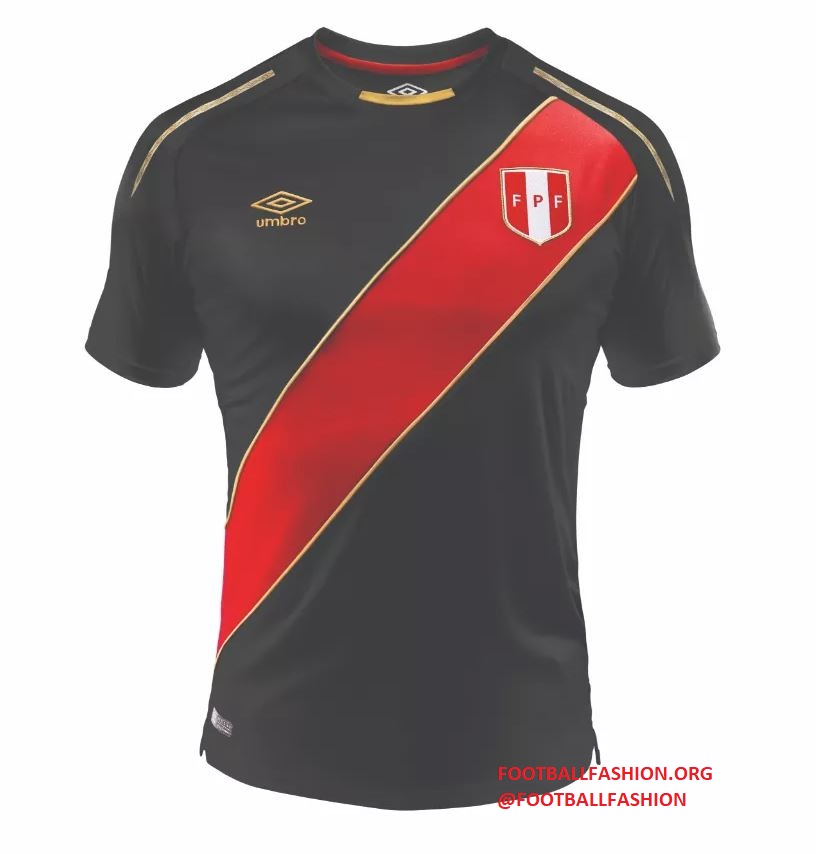 Peru 2018 FIFA World Cup Umbro Limited Edition Soccer Jersey 990fc9ab9