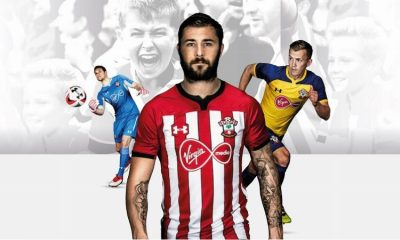Southampton Football Club 2018 2019 Under Armour Home and Away Football Kit, Soccer Jersey, Shirt