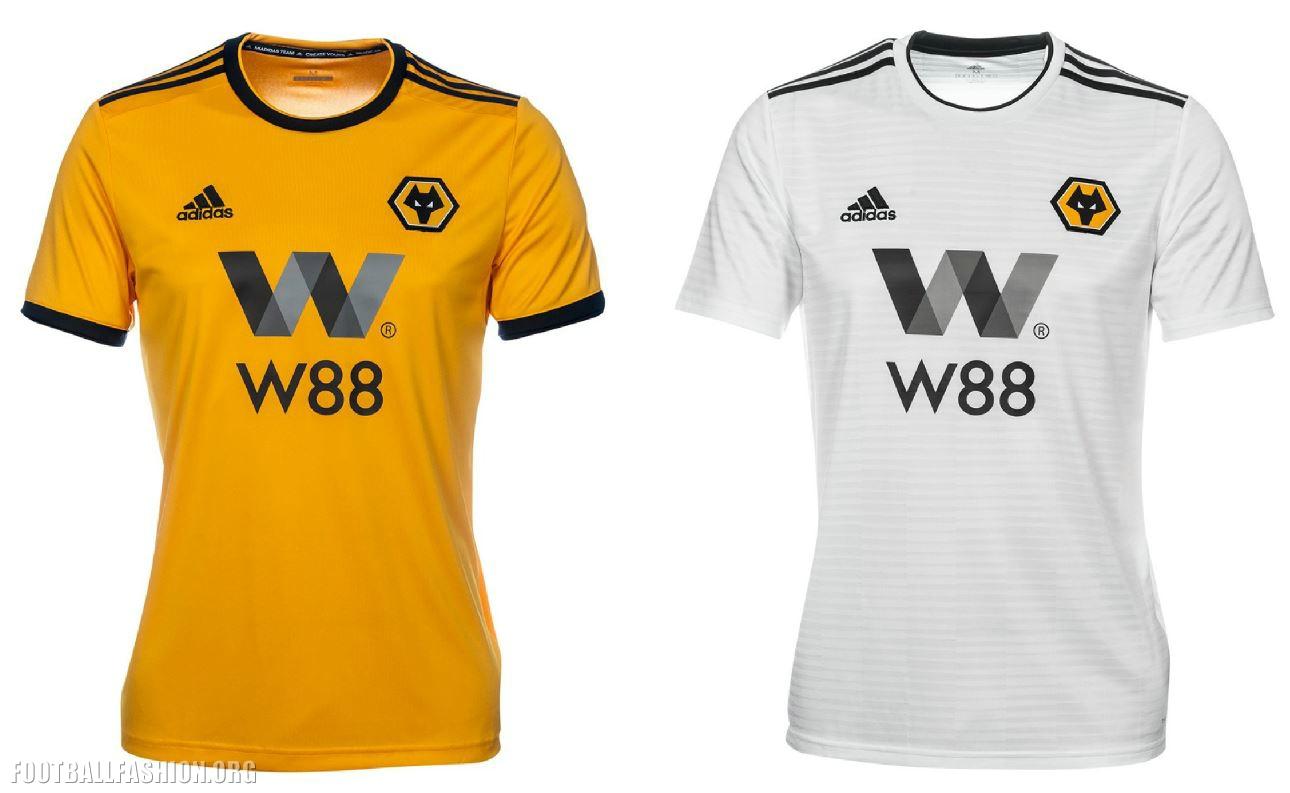 Wolves Unveil 2018 19 adidas Premier League Kits – FOOTBALL FASHION.ORG c4b96420a