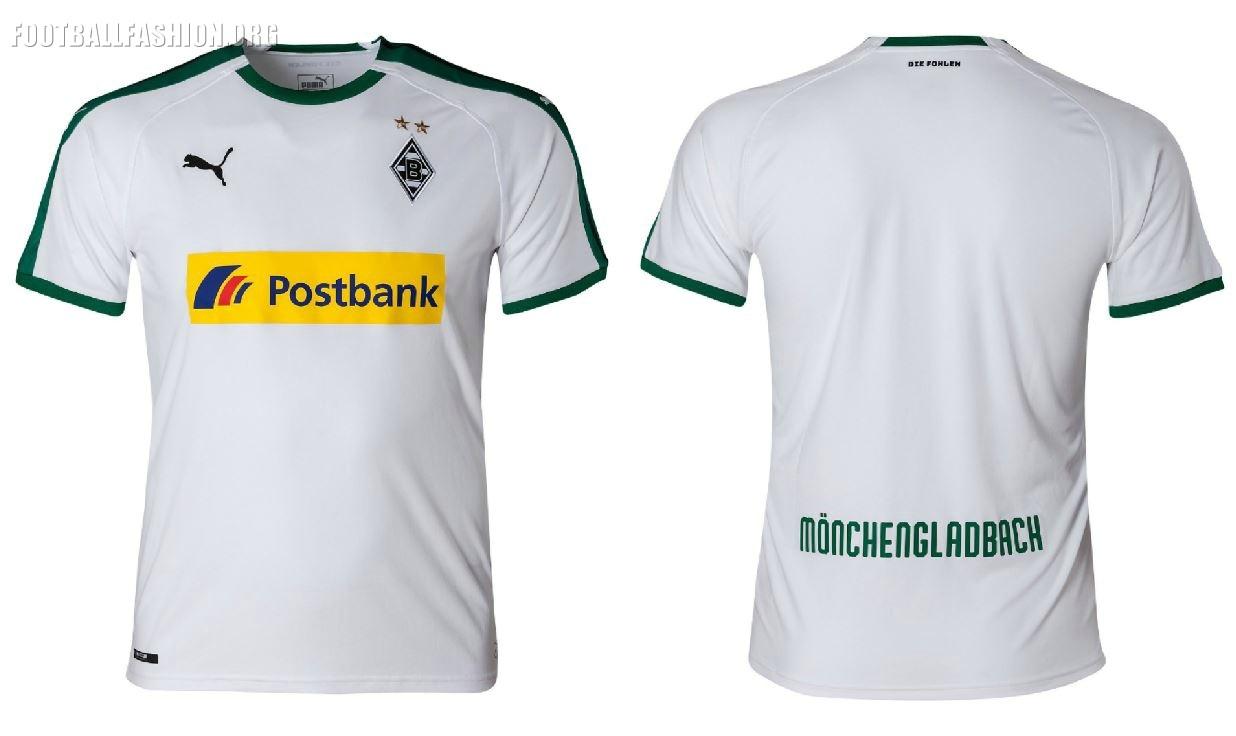 Borussia Mönchengladbach 2018/19 PUMA Home and Away Kits ...