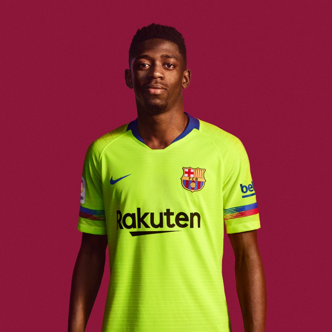 the best attitude d1ab1 5bfdd FC Barcelona 2018/19 Nike Away Kit - FOOTBALL FASHION.ORG