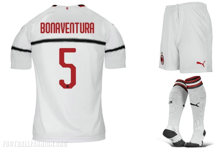 ad1464b690f8 AC Milan 2018/19 PUMA Away Kit - FOOTBALL FASHION.ORG