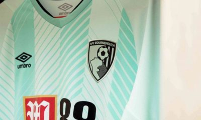 AFC Bournemouth 2018 2019 Umbro Third Football Kit, Soccer Jersey, Shirt