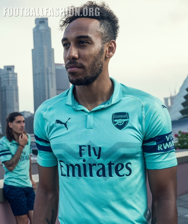 Arsenal FC 2018 19 PUMA Third Kit – FOOTBALL FASHION.ORG 65320c172e04d