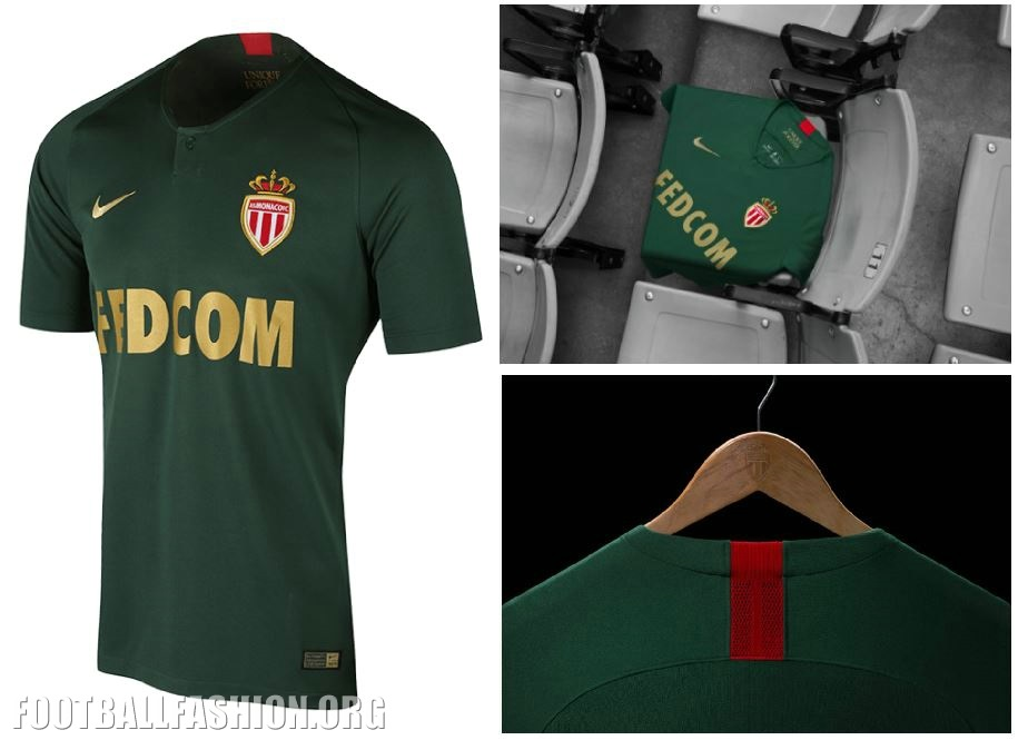 AS Monaco 2018 19 Nike Away Kit – FOOTBALL FASHION.ORG 780f1781fe8
