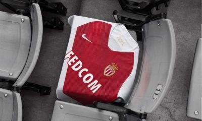 AS Monaco 2018 2019 Nike Home Football Kit, Soccer Jersey, Shirt, Maillot, Camiseta, Trikot, Camisa