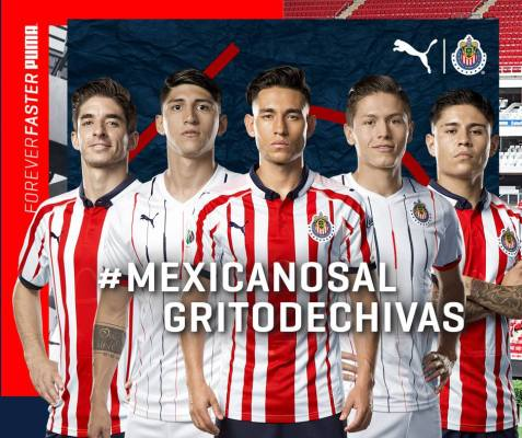 86dbcae51 Chivas de Guadalajara 2018 19 PUMA Home and Away Jerseys - Football ...