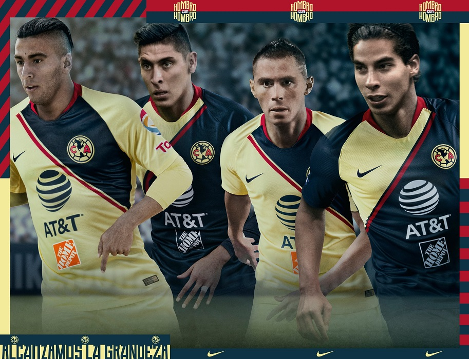 Club América 2018 19 Nike Home and Away Jerseys – FOOTBALL FASHION.ORG 0c9130069a8f0