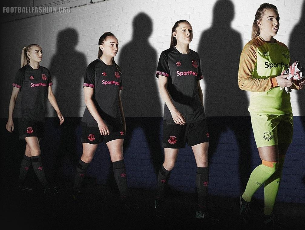 new styles a73b2 4af2e Everton FC 2018/19 Umbro Away Kit - FOOTBALL FASHION.ORG