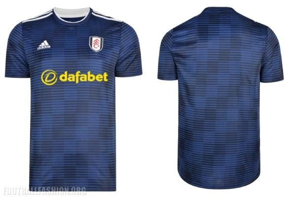 Fulham Football Club 2018 2019 adidas Home and Away Football Kit, Soccer Jersey, Shirt