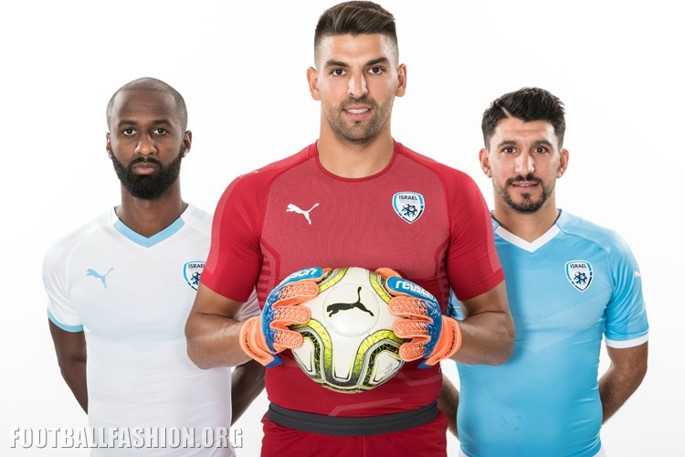 59a1ed325 Israel 2018 19 PUMA Home and Away Kits – FOOTBALL FASHION.ORG