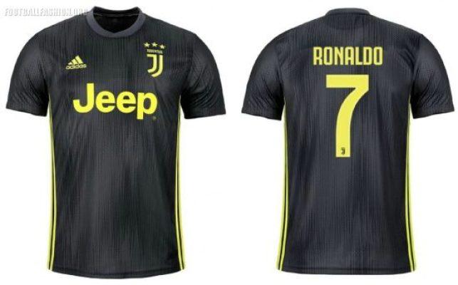 Juventus 2018 2019 adidas Third Football Kit, Soccer Jersey, Shirt, Camiseta, Camisa, Maglia, Gara, Trikot, Maillot, Tenue