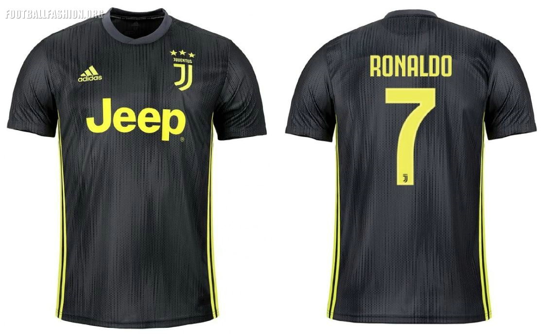 low priced 9f3b1 dc65f Juventus FC 2018/19 adidas Third Kit - FOOTBALL FASHION.ORG