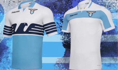 SS Lazio 2018 and 2019 Macron Home and Europa League Football Kit, Soccer Jersey, Shirt, Gara, Maglia, Camiseta, Camisa