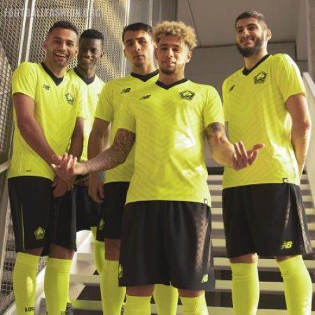 Lille OSC 2018 2019 New Balance Home, Away and Third Football Kit, Soccer Jersey, Shirt, Maillot