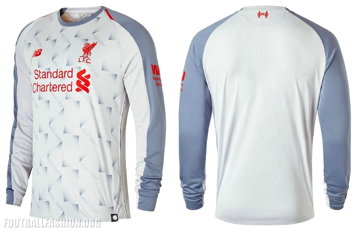 big sale f57f9 dde2a Liverpool FC 2018/19 New Balance Third Kit - FOOTBALL ...