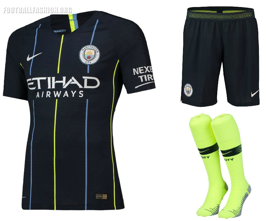 buy cheap f34da 31f2e Manchester City 2018/19 Nike Away Kit - FOOTBALL FASHION.ORG