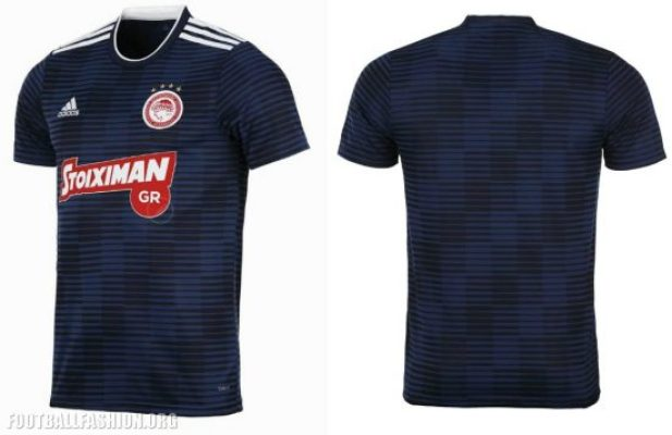 Olympiacos FC 2018 2019 adidas Home, Away and Third Football Kit, Soccer Jersey, Shirt