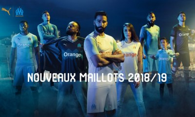 Olympique de Marseille 2018 2019 PUMA Home, Away and Third Football Kit, Soccer Jersey, Shirt, Maillot