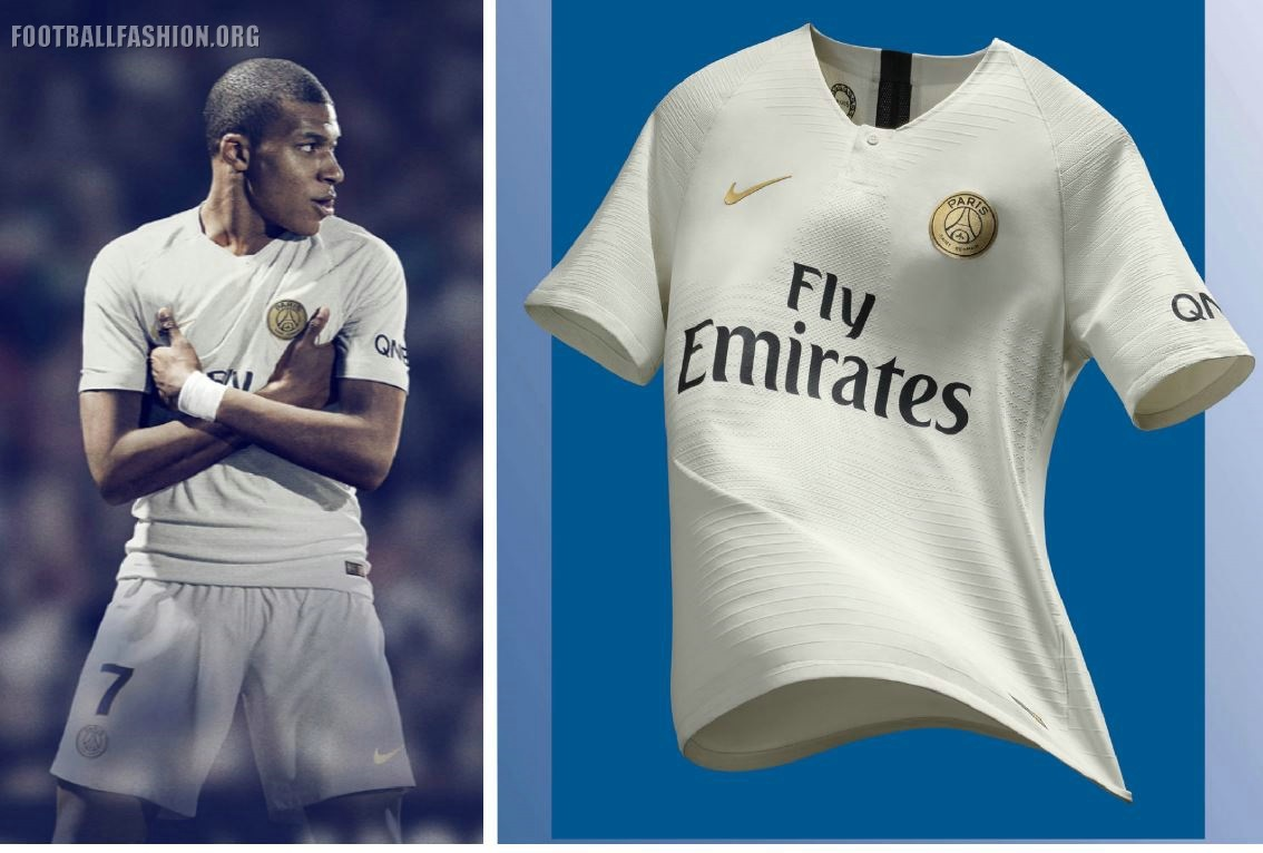 low priced 52aed c4110 Paris Saint-Germain 2018 2019 Nike Away Football Kit, Soccer Jersey, Shirt,