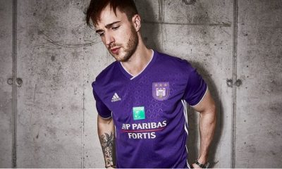 RSC Anderlecht 2018 2019 adidas Home Football Kit, Soccer Jersey, Shirt, Maillot, Tenue