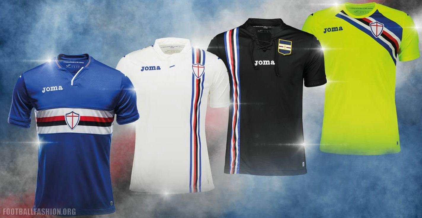 d5109c5ecb0 Sampdoria 2018 2019 Joma Home