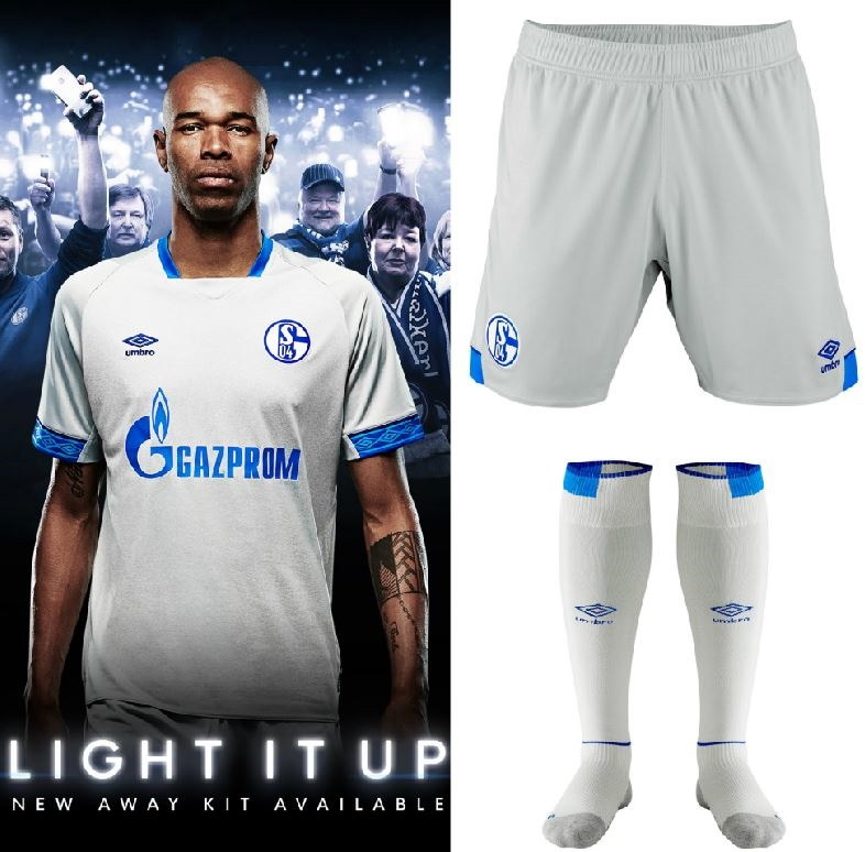 7c63294eed6 Schalke 04 2018 19 Umbro Away Kit - FOOTBALL FASHION.ORG