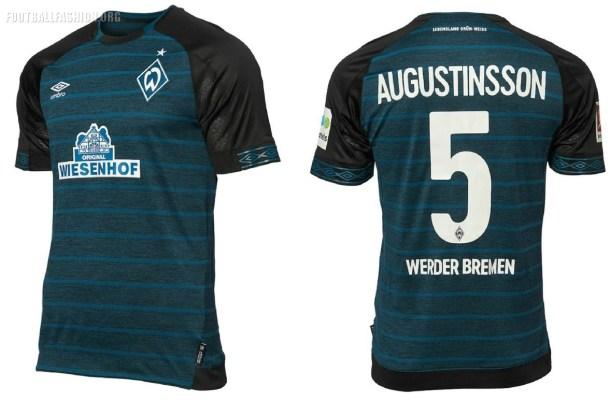Werder Bremen 2018 2019 Umbro Home, Away and Third Football Kit, Soccer Jersey, Shirt, Trikot