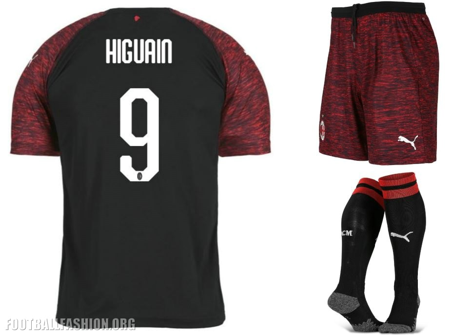 f2e107954 AC Milan 2018 19 PUMA Third Kit - FOOTBALL FASHION.ORG
