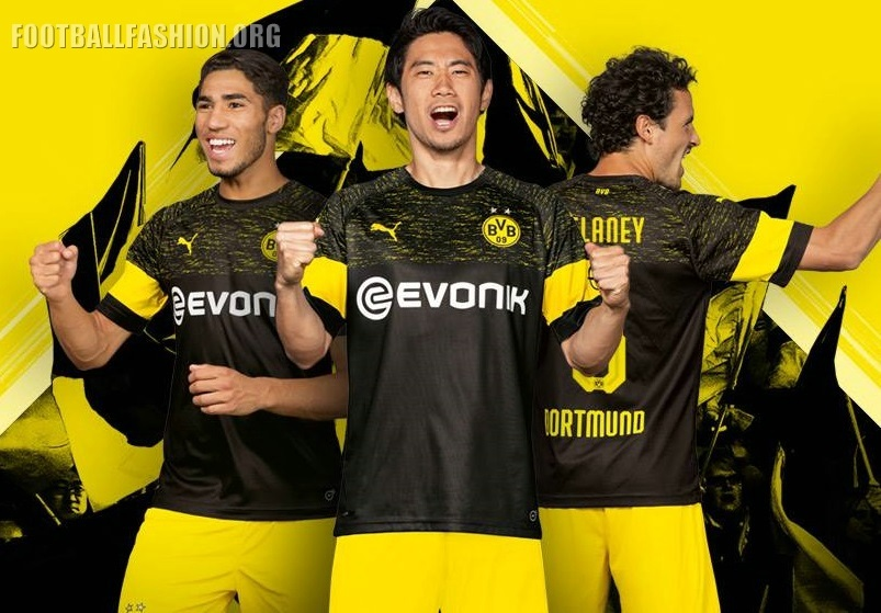 5dea77b29b9 Borussia Dortmund 2018 19 PUMA Away Kit - FOOTBALL FASHION.ORG